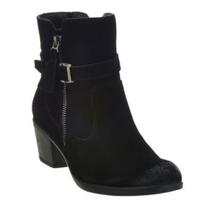 Earth Origins Suede Water Repellent Ankle Boots